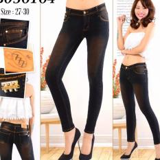 RNF - Celana Jeans - Cewek Coklat Belel