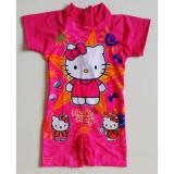 Jual Rnkd35 Baju Renang Anak Diving Hello Kitty Star Satu Set