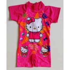RNKD35 - Baju Renang Anak Diving Hello Kitty Star