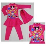 Promo Rnkd71 Baju Renang Anak Muslim Tsum Tsum Pink Akhir Tahun