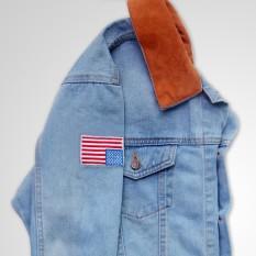 Beli Rnr Jaket Dilan Denim Jeans Bioblitz Biru Muda