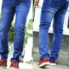 Jual Rnw Celana Jeans Denim Best Seller Blue Biruwash Di Jawa Barat