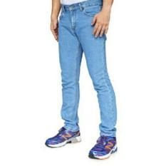 Jual Rnw Celana Jeans Reguler Fit Standard Biru Muda Bioblitz Men S Denim Asli