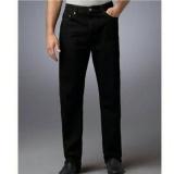 Promo Rnw Celana Panjang Jeans Denim Pria Regular Slim Black Hitam Akhir Tahun