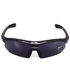 Robesbon 0089-1 Non-polarized Outdoor UV400 Kacamata Hitam (Hitam)-Intl