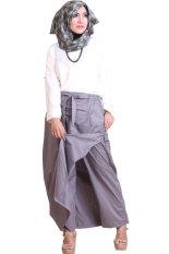 Spesifikasi Rocella Rok Celana Rania Grey Terbaik