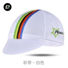 ROCKBROS Bersepeda Sepeda Olahraga Bike Headband Cap Hat Bersepeda Topi Peralatan Memakai Helm Multicolor 7 Gaya Bandana Bajak Laut (Pelangi Putih) -Intl
