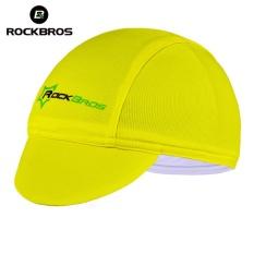 ROCKBROS Bersepeda Sepeda Olahraga Bike Headband Cap Hat Bersepeda Topi Peralatan Memakai Helm Multicolor 7 Gaya Bandana Bajak Laut (Kuning) -Intl