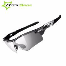 ROCKBROS Bersepeda Kacamata Terpolarisasi Photochromic Lensa Kacamata Olahraga Kacamata Hitam