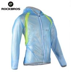 Jual Cepat Rockbros Mtb Bersepeda Jersey Multifungsi Jaket Hujan Tahan Air Windproof Tpu Jas Hujan Sepeda Sepeda Peralatan Pakaian 3 Warna Biru Intl
