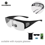 Review Rockbros Polarized Outdoor Cycling Sunglasses Mtb Bike Goggles For Myopia Glasses Black Intl Rockbros