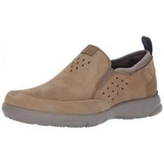 Rockport Mens Truflex SLIP ON Sneaker, Taupe, 13 W KAMI-Internasional