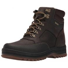 Rockport Mens World Explorer Mid Waterproof Snow Boot, Dark Bitter Chocolate, - intl
