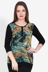 Rodeo  Women Clothing Tops Blouses & Shirts  Wanita Busana Atasan Blus & Kemeja Black Hitam Diskon discount murah bazaar baju celana fashion brand branded