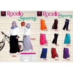 Rok Celana Training Sporty Muslimah Aktif - Yeoqef