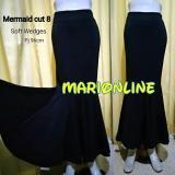 Jual Rok Duyung Mermaid Maxi Cut 8 Wedges Murah