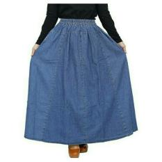 Toko Rok Jeans Jumbo Warna Light Blue Azka Collection Indonesia