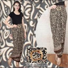 Rok lilit batik wanita jumbo long skirt Callie