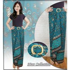 Review Rok Lilit Batik Wanita Jumbo Long Skirt Tosania Di Banten
