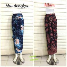 Rok Lilit Serut R016 Batik Semi Sutera  Wrap Skirt  Bawahan Kebaya Dan Baju Batik Modern
