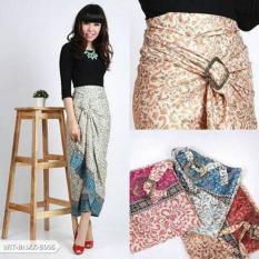 Rok Lilit Serut R028 FREE RING / Wrap Skirt / Bawahan Kebaya Kutubaru Encim Brokat / Seragam Kondangan Wisuda