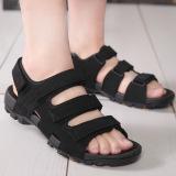 Jual Sandal Santai Pria Ukuran Besar Hitam Hitam