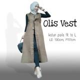 Spesifikasi Rompi Wanita Cardy Outer Rom Olis Vest Lengkap Dengan Harga