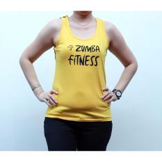 Ronaco Baju senam T shirt Zumba 2 XL   - Kuning