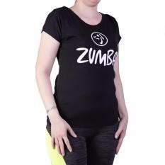 Ronaco baju Senam Zumba - Hitam XL