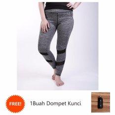 Spesifikasi Ronaco Celana Senam Zumba Pants Celana Aerobik Celana Yoga Import Hitam Csi010 Murah Berkualitas