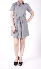 Toko Ronaco Diana Dress T001 Navy Online Dki Jakarta