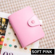 Ronaco Dompet Kartu 24 Pc - Soft Pink