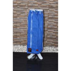 Ronaco Sarung  Celana Sarung Tenun Al Hidayah - Biru Garis