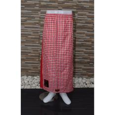 Harga Ronaco Sarung Celana Sarung Tenun Al Hidayah Merah Kotak Baru Murah
