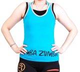 Spesifikasi Ronaco T Shirt Zumba T00B Biru Muda Yg Baik