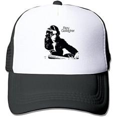 Rory Gallagher Logo Jutaan Mil Jauhnya Snapback Topi Hitam-Intl