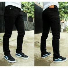 R O S Celana Jeans Pria Premium Hitam Diskon Jawa Barat