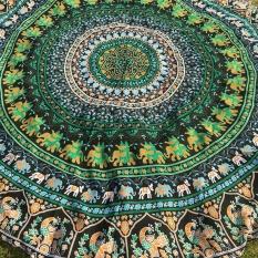 Sepanjang Bohemian Hippie Tapestry Pantai Picnic Throw Yoga Alas Handuk Selimut-Internasional