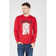 Rown Division Original - Men Hysteria T-Shirt Red