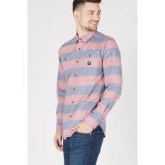 Rown Division Original - Men Ramid Shirt Pink Grey
