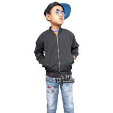 rs jaket bomber polos anak