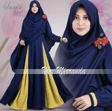 Jual Rsd Gamis Syari Jersey Super Gaun Muslimah Syar I Baju Muslim Wanita Maxi Dress Baru