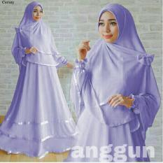 RSD Gamis Syari Jersey Super - Gaun Muslimah Syar'i - Baju Muslim Wanita - Maxi Dress