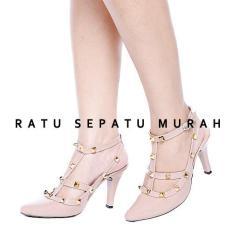RSM High Heels Sepatu wanita coklat - S302