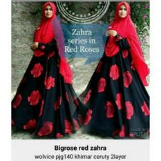 Promo Rsm Rose Big Zahra Syari Merah