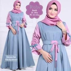 Beli Ruby Dress Soft Blue Seken