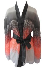Spesifikasi Ruby Lxl 865 Gradient Pattern S*xy Kimono Lingerie Multicolor Ruby