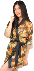 Jual Ruby Lz 768 Cute Flower Transparent Lingerie Kimono Ruby Asli