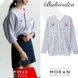 Berapa Harga Rumah Korea Musim Gugur Baru Sebelum Dan Sesudah Wanita Blus Kemeja Hitam Dan Putih Baju Wanita Baju Atasan Kemeja Wanita Di Tiongkok