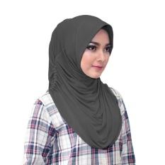 Rumana Hijab Jilbab Instan Instant - [Warna hitam]